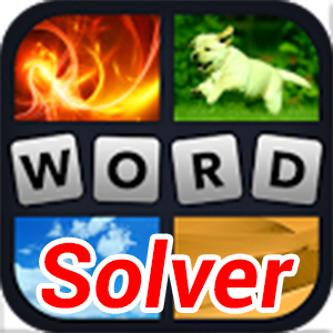 4 Pics 1 Word Cheat – Words Solver