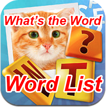 Whats the Word Word List