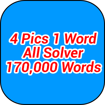 4 pics 1 word all words cheat words solver