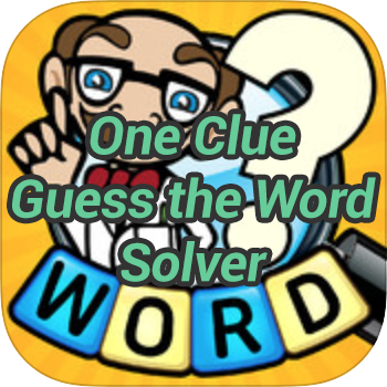 One Clue Guess the Word Solver