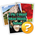 1 Pic 1 Word More Words Solver