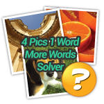4 Pics 1 Word More Words Solver