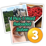 4 Pics 1 Word Reloaded Solver