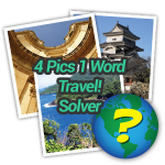 4 Pics 1 Word Travel Solver