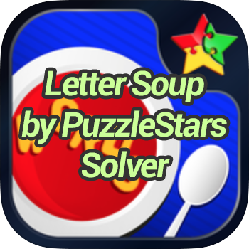 Letter Soup by PuzzleStars Solver